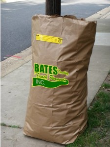 Bates Yard Waste Bags are only $2/per bag for the first 100 customers!